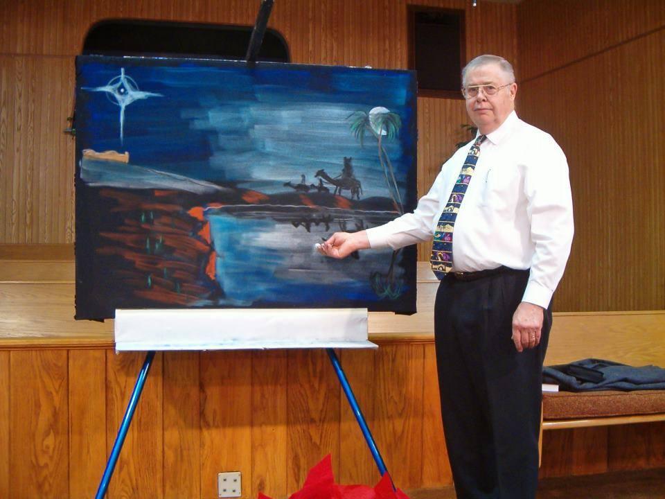 Dr. Ray Meier chalk talk