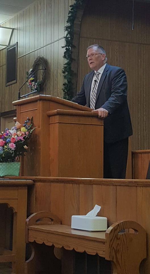 Bro. Rodney Woodcock                                           preaching